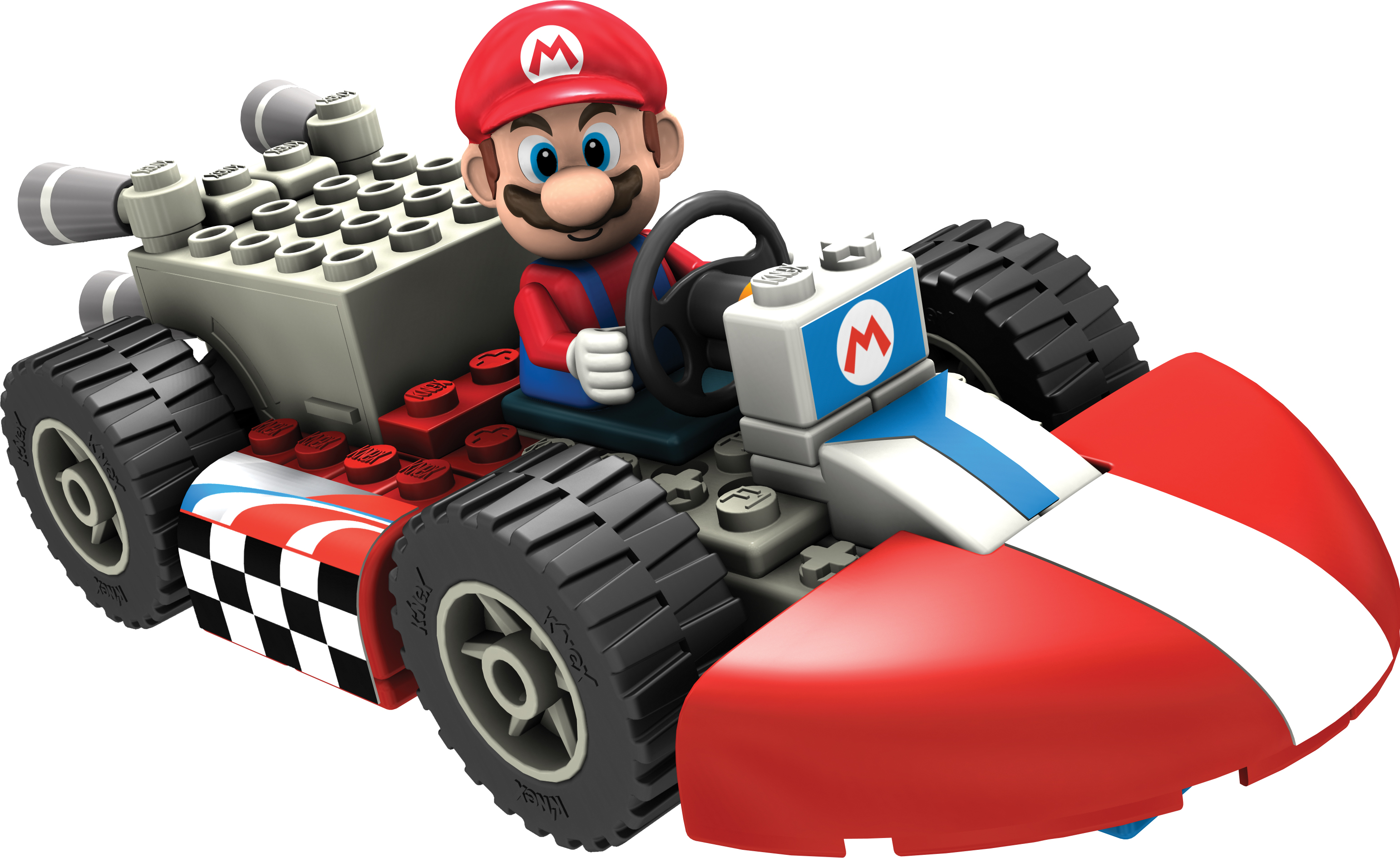 k nex mario kart wii building sets review dustinnikki mommy of three. Black Bedroom Furniture Sets. Home Design Ideas