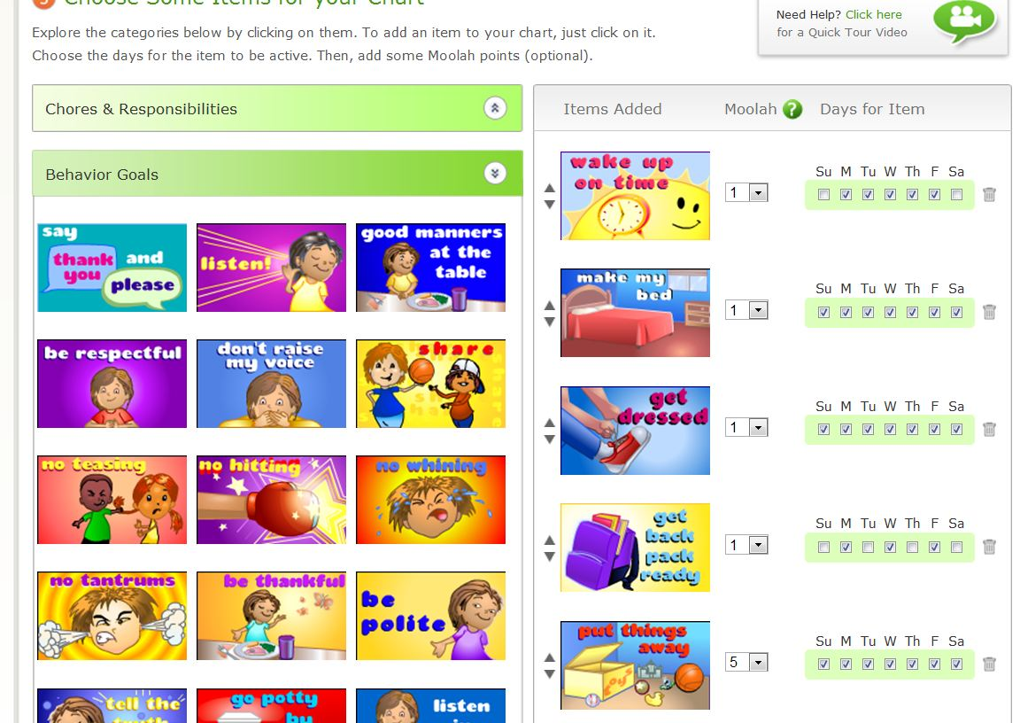Goal For It! Online Chore/Behavior Chart Review – A way to keep ...