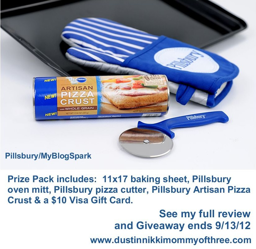 Pillsbury Artisan Pizza Crust w/ whole grain #Review and