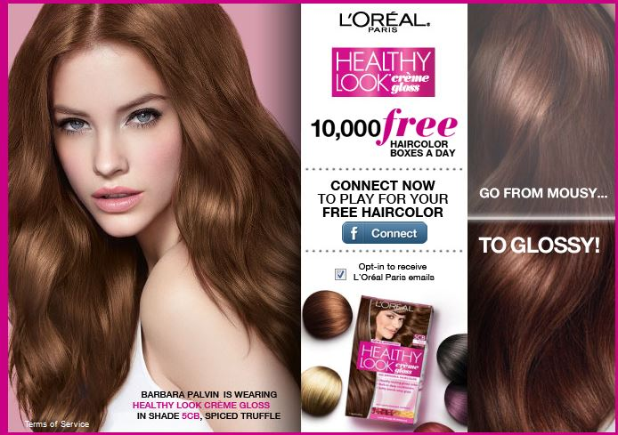 Free Box Of Loreal Healthy Look Hair Color Giveaway 10000 To