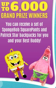 spongebobpatrickbackpacks