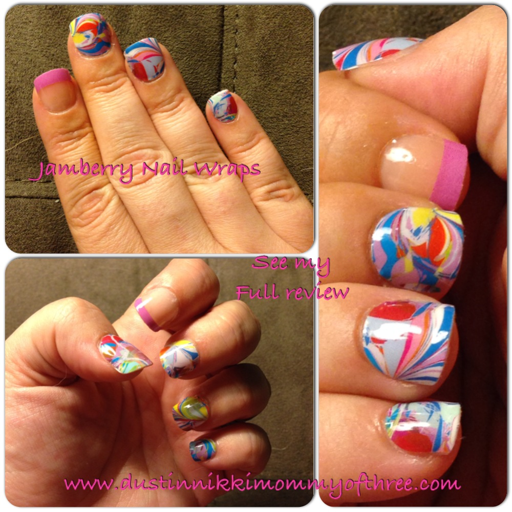 Jamberry Nail Wraps Review #ad #review #nails #jamberry ...