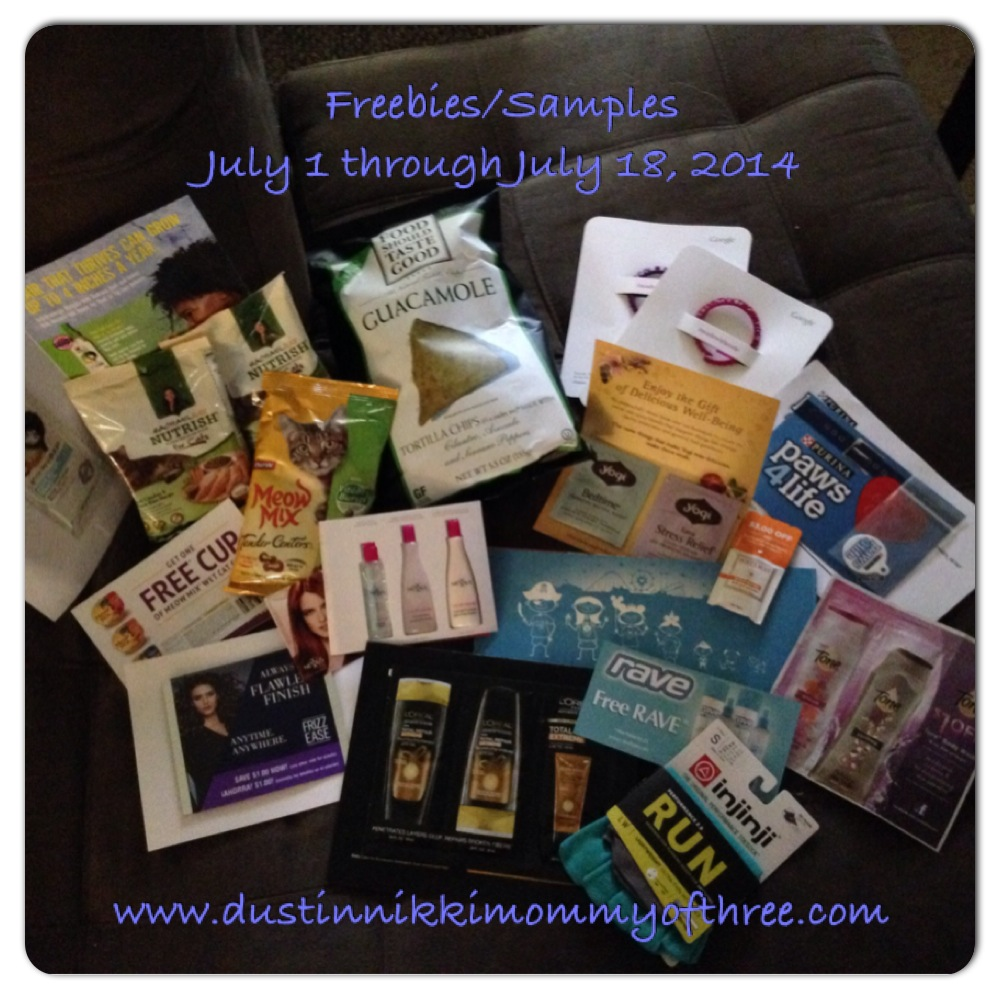 freebies july