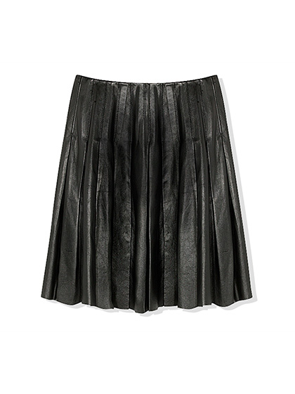 free-sportmax-leather-skirt