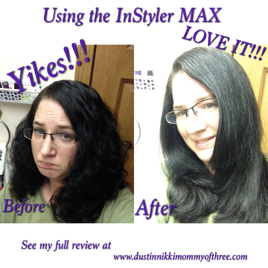 before and after instyler max