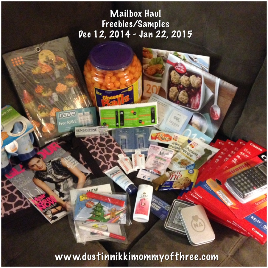 freebies samples jan 2015