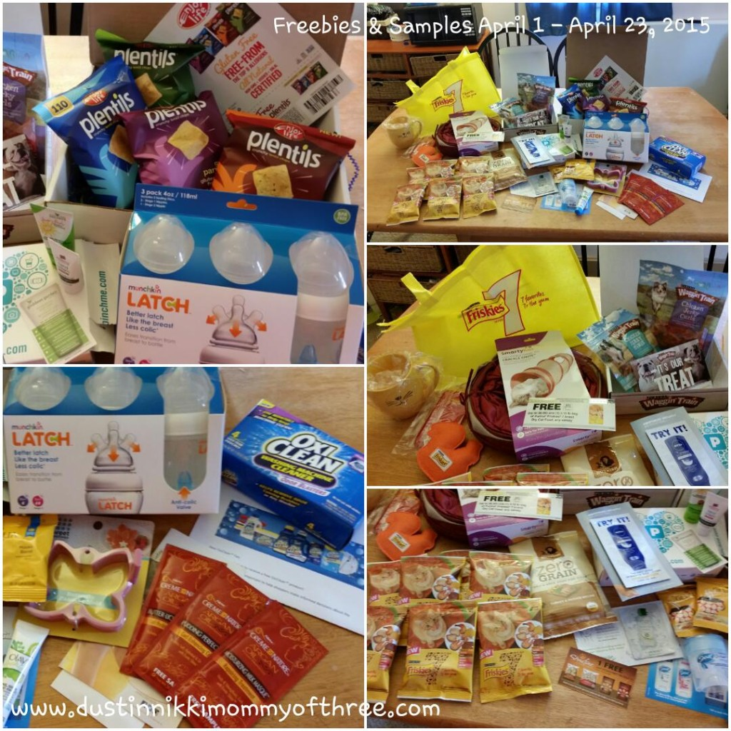 Freebies April 2015