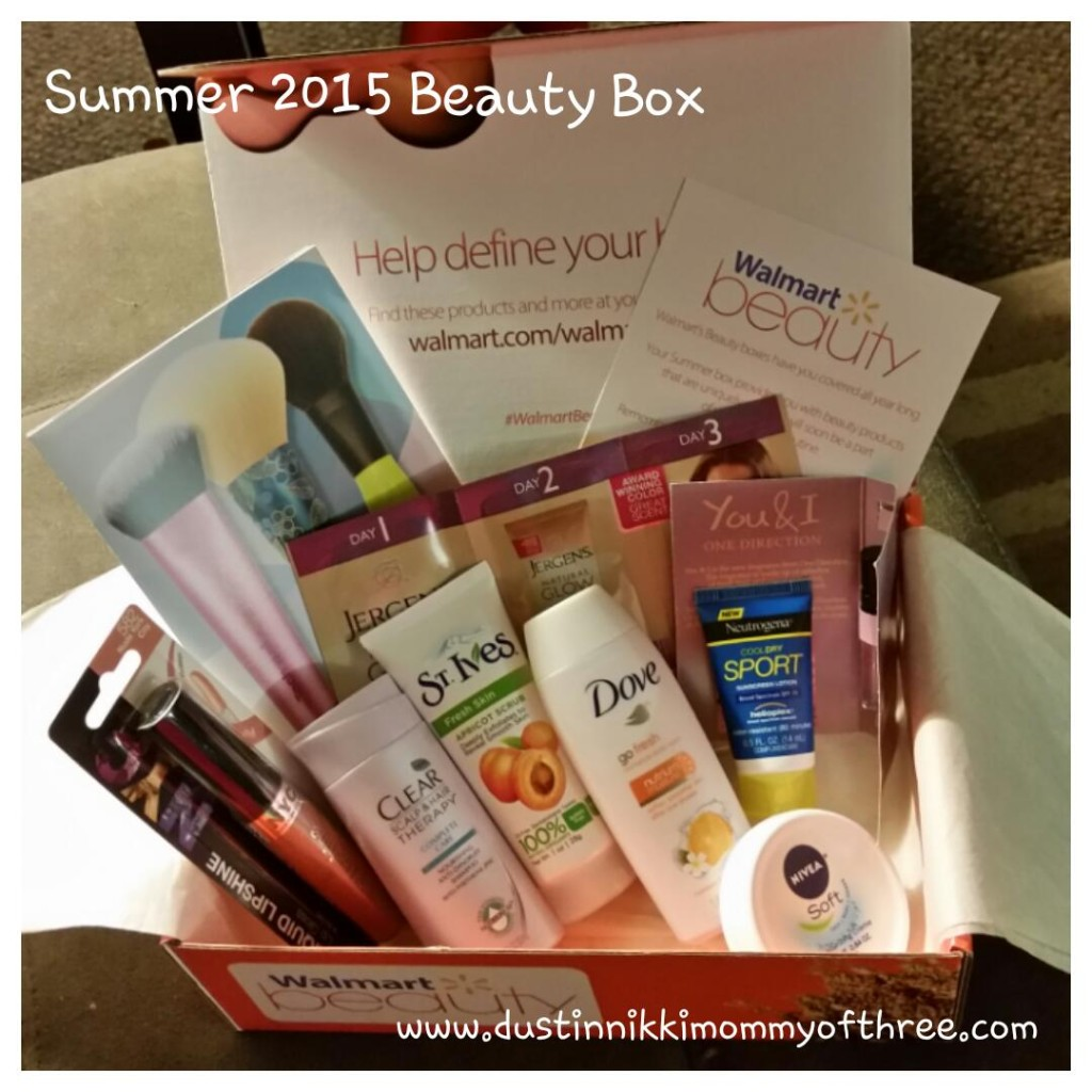 walmart beauty box summer 2015