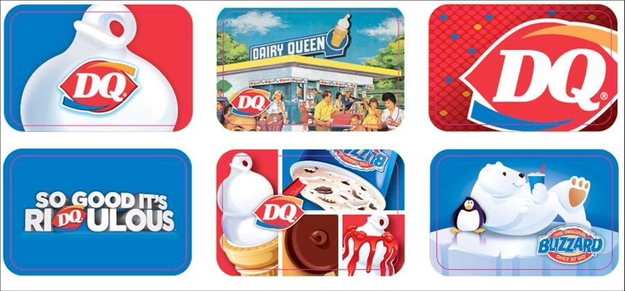 dq gift cards