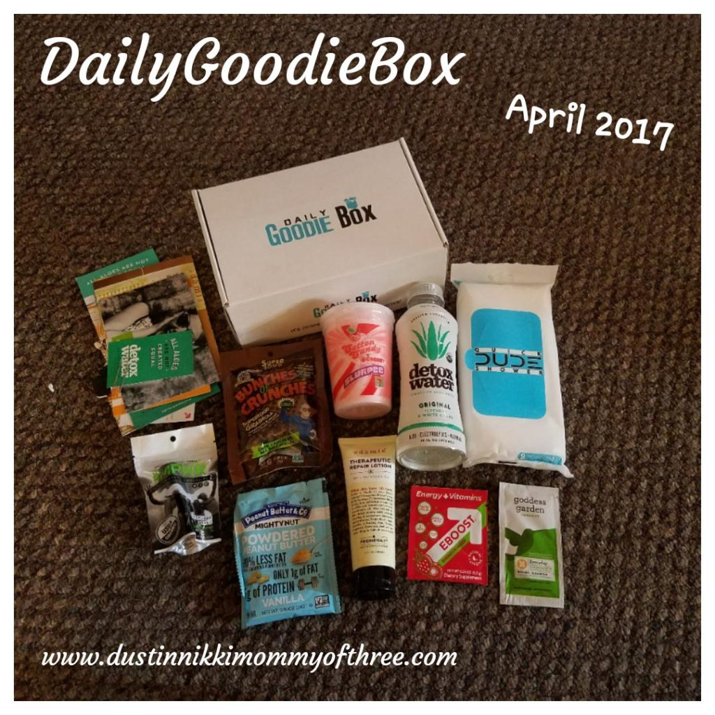 Daily Goodie Box April 2017 Review & Unboxing #free #freesampleboxes ...