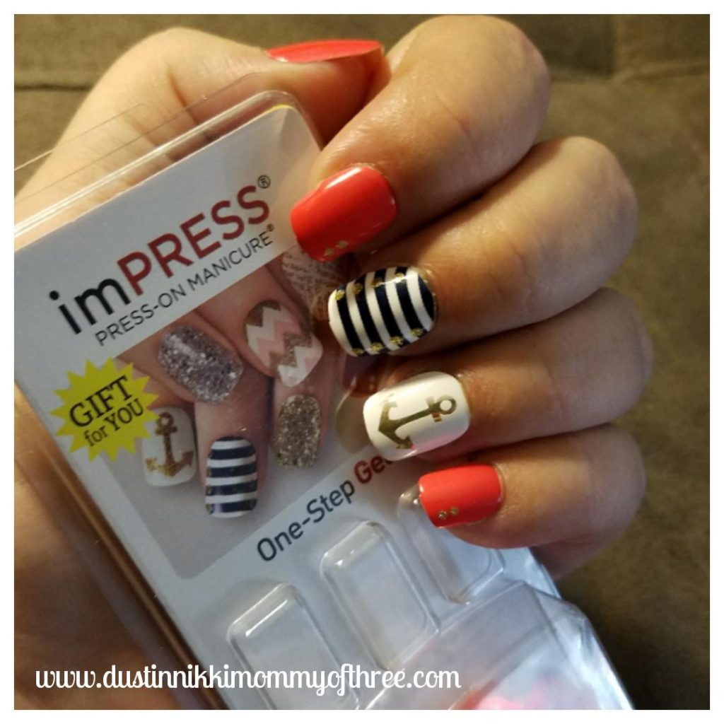 imPRESS Nails Press-On Manicure Review « DustinNikki Mommy ...