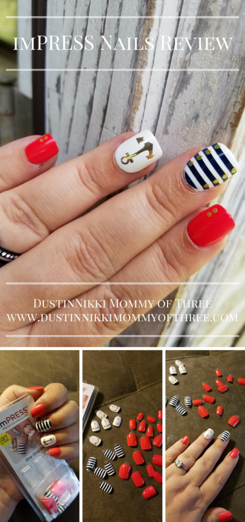 imPRESS Nails Press-On Manicure Review - DustinNikki Mommy of Three