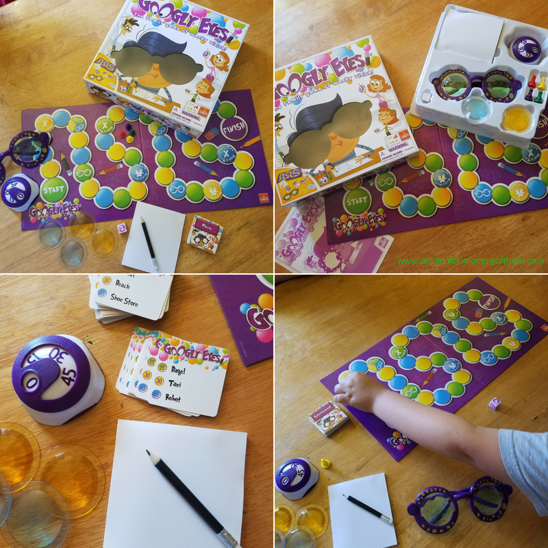 Googly eyes game a game by goliath games review dustinnikki i love that about board games googly eyes is really fun for a family game night because with this one you play with teams and its just fun freerunsca Gallery