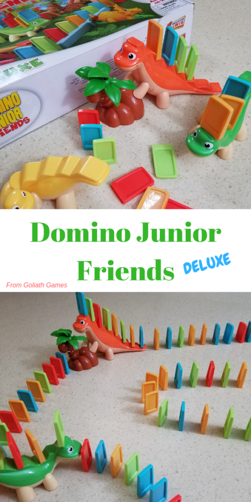 Domino Junior Friends Deluxe from Goliath Games Review