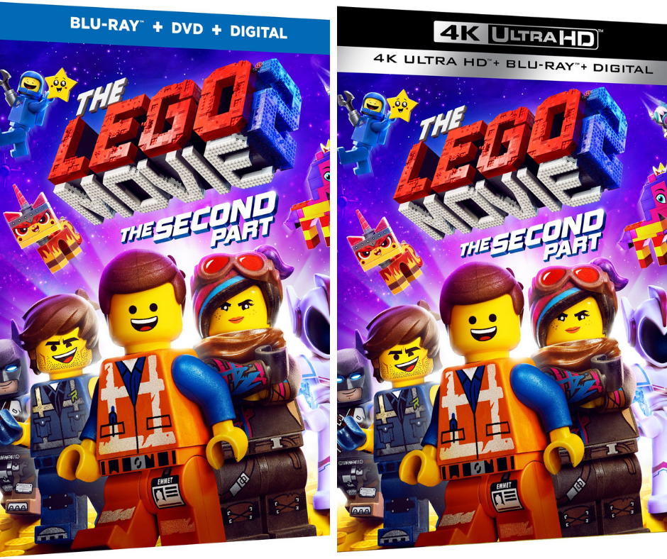 The Lego Movie 2 The Second Part Dvdblu Ray Release And Giveaway