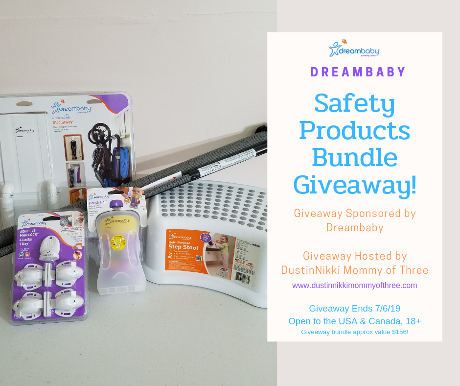 Dreambaby Safety Products Bundle Giveaway Ends 7 6 19