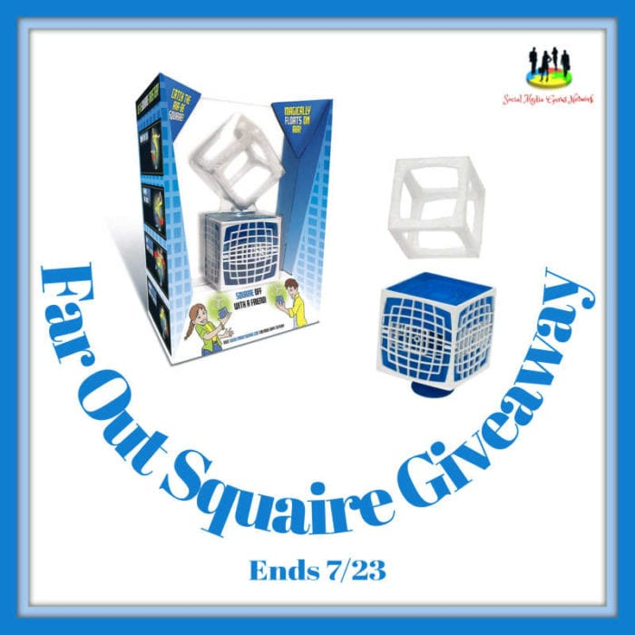 Far Out Squaire Giveaway Ends 7/23