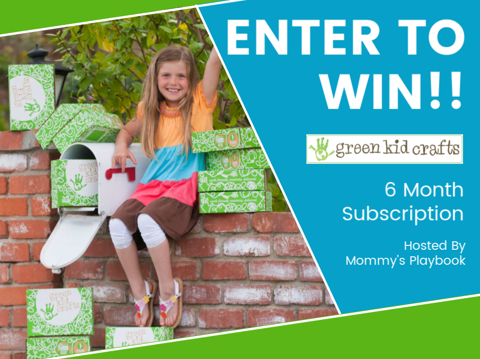 Green Kid Crafts Monthly Subscription Service giveaway