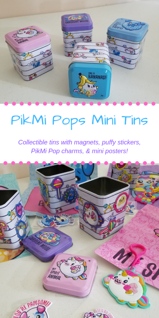PikMi Pops Mini Tins