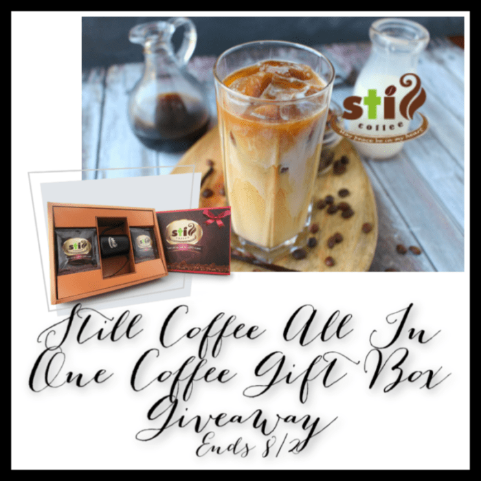 Still Coffee All In One Coffee Gift Box Giveaway