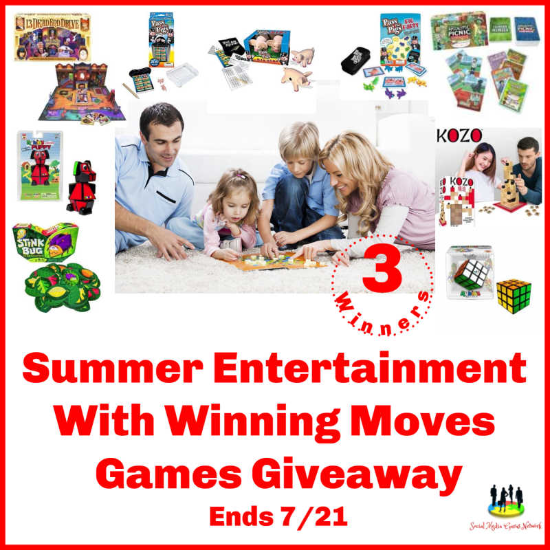 Summer Entertainment With Winning Moves Games Giveaway