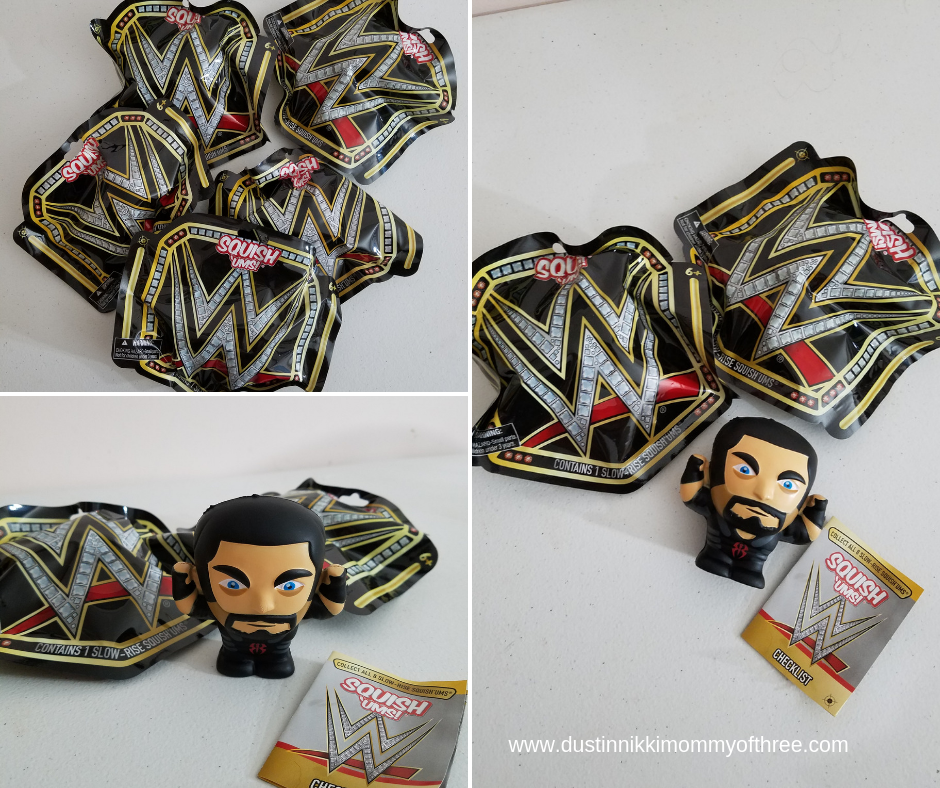 Squish'Ums WWE Squishy Toys