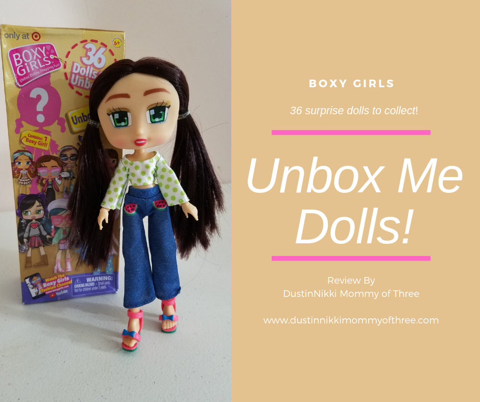 Boxy Girls Unbox Me Dolls