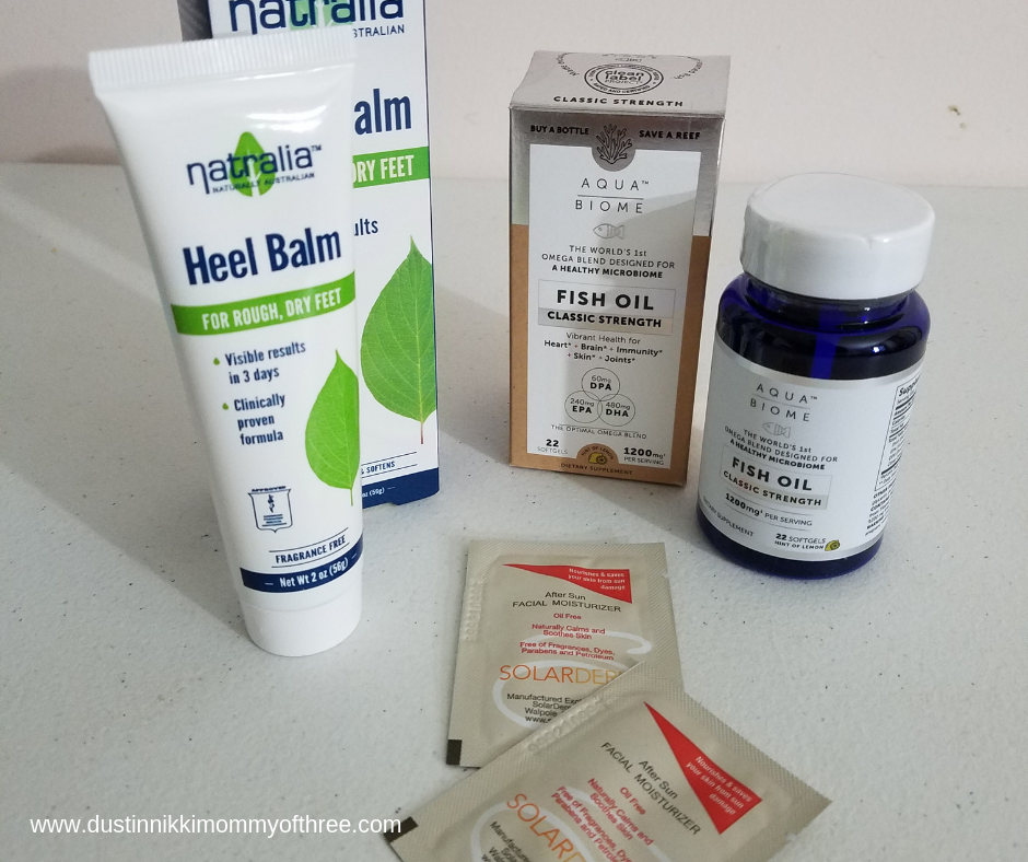 Daily Goodie Box August 2019 box