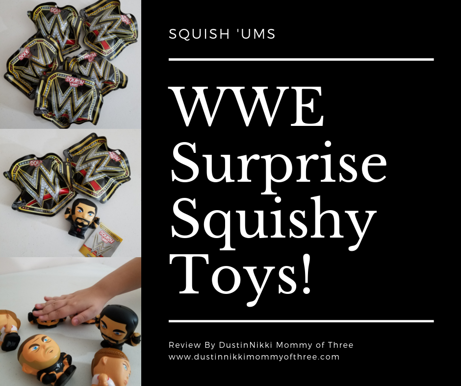 Squish'Ums WWE Squishy Toys from Bulls i Toy Review