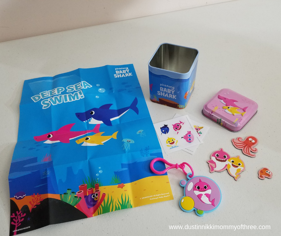 Baby Shark Mini Tins