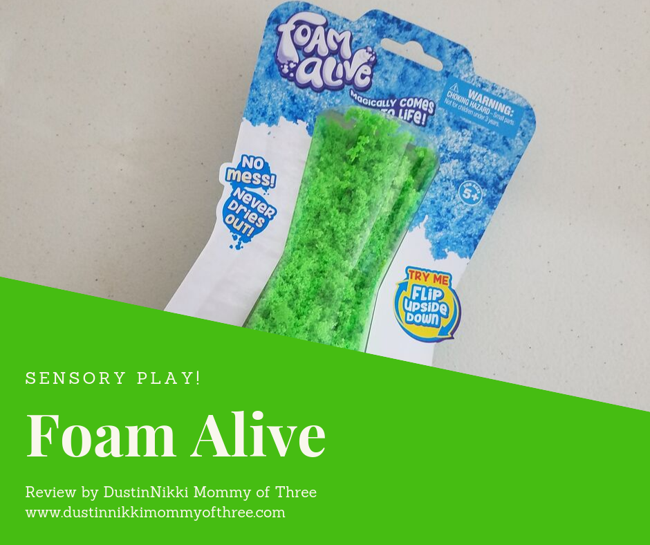 Foam Alive from Play Visions