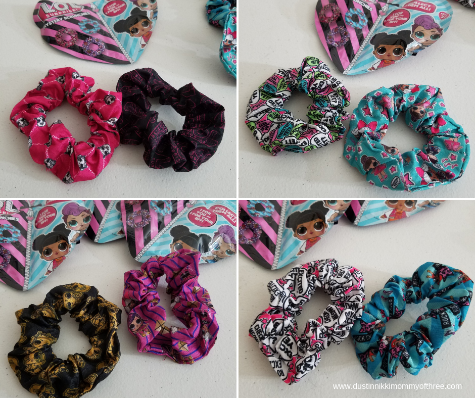 LOL Surprise Mystery Scrunchies
