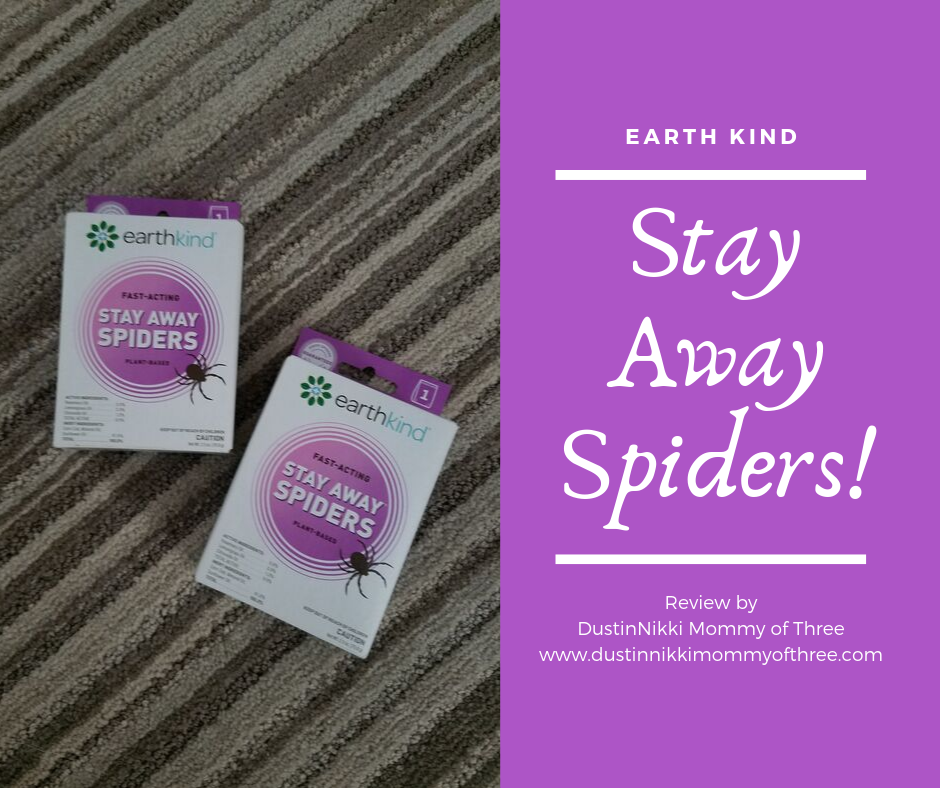 EarthKind Stay Away Spiders