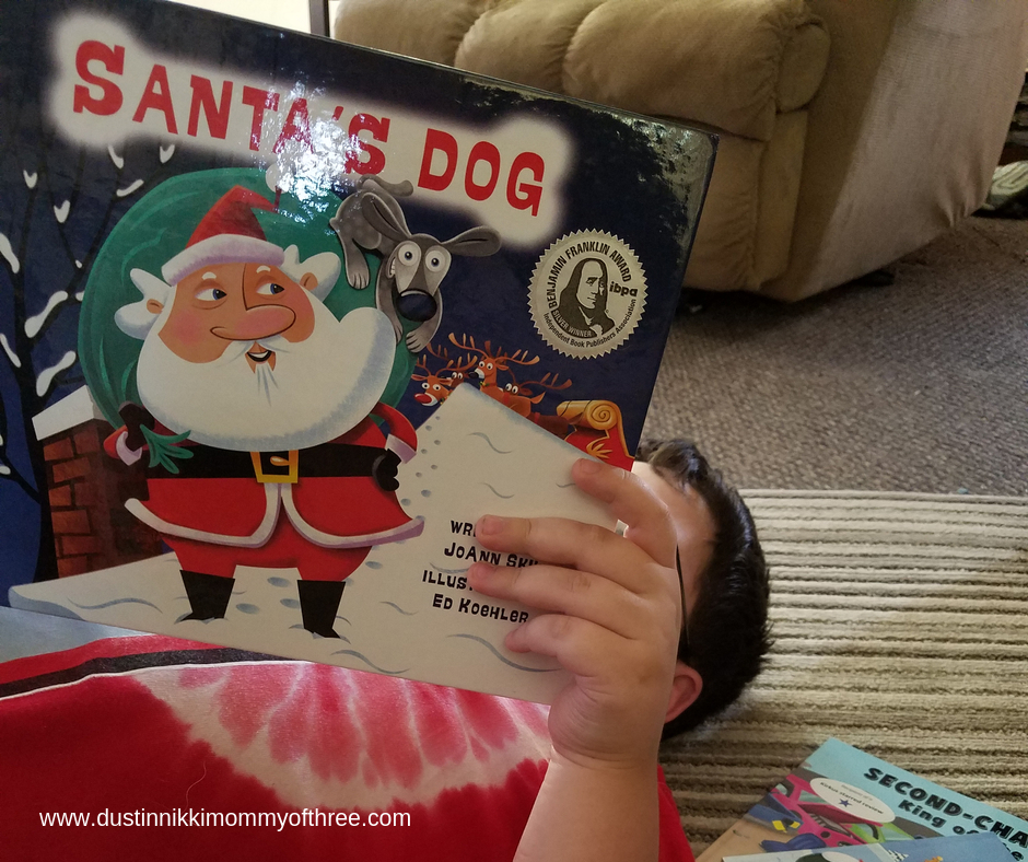 Santa's Dog by JoAnn Sky