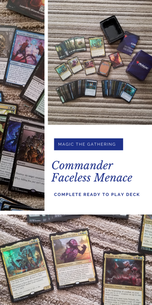 Magic Faceless Menace Deck