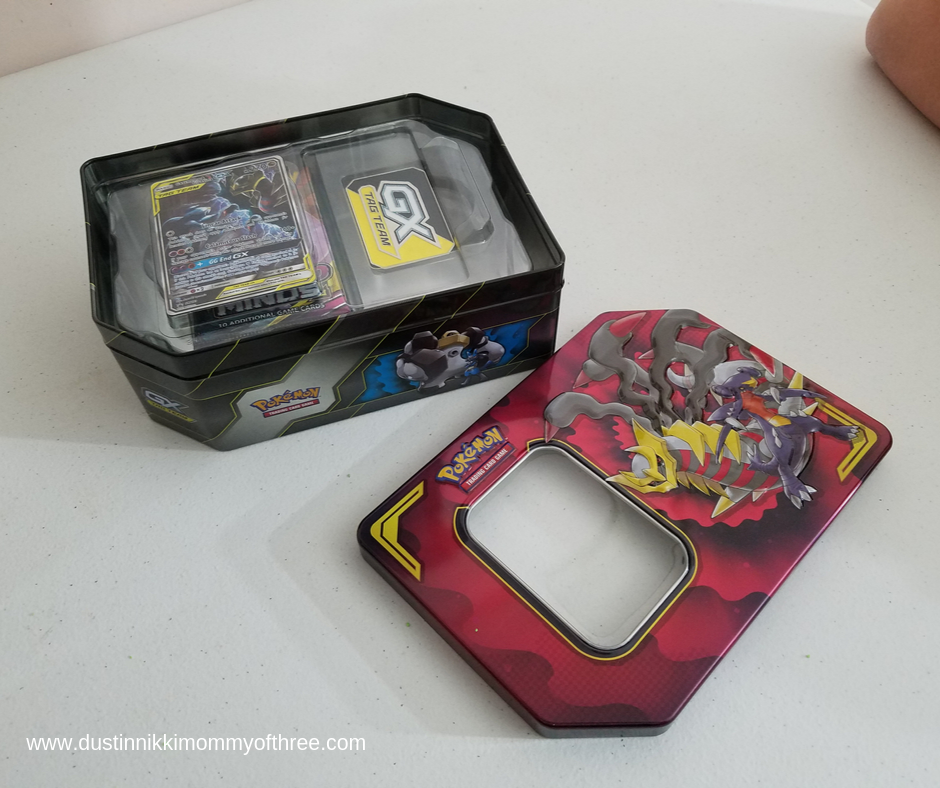 Pokemon Tag Team Tins