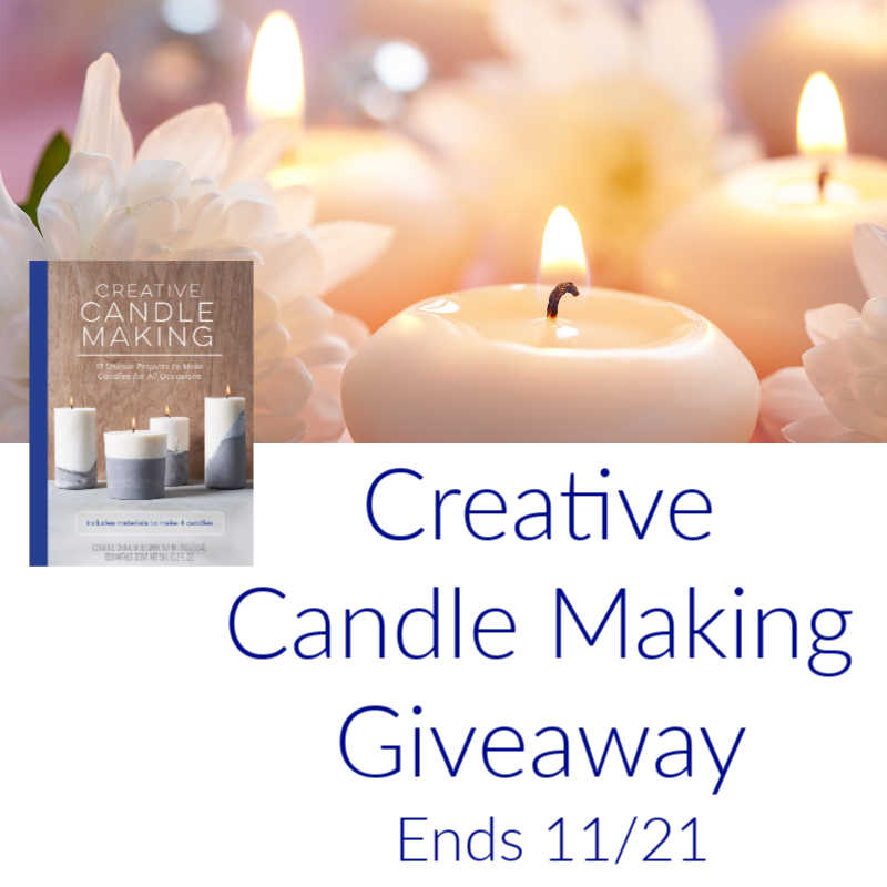 creative candle making book