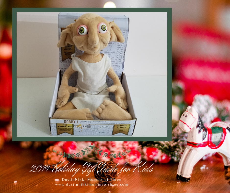 2019 Holiday Gift Guide for Kids Talking Dobby Plush