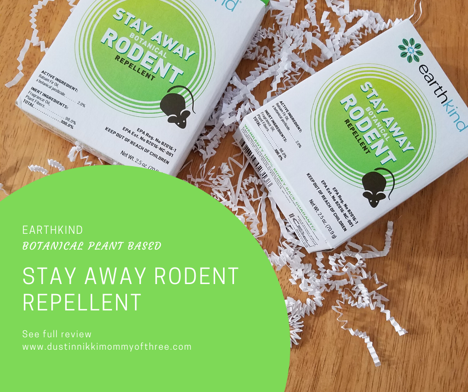EarthKind Stay Away Rodent Repellent