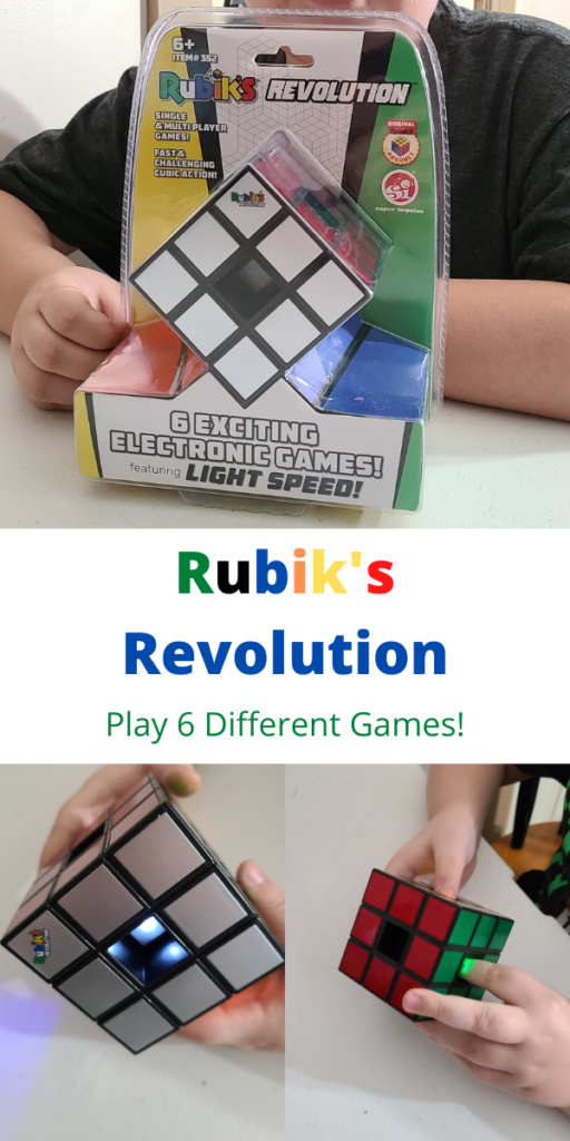 Rubik's Revolution Electronic Game