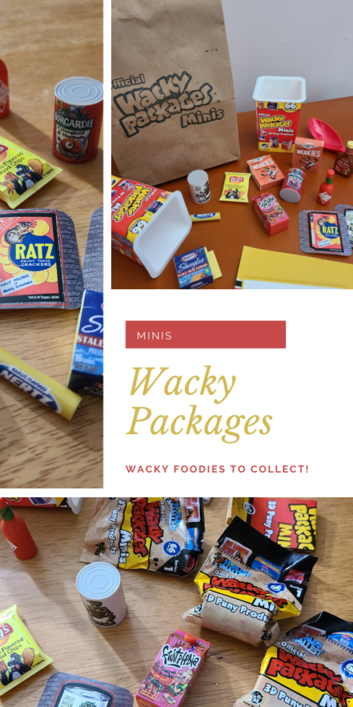 Wacky Packages Minis toys