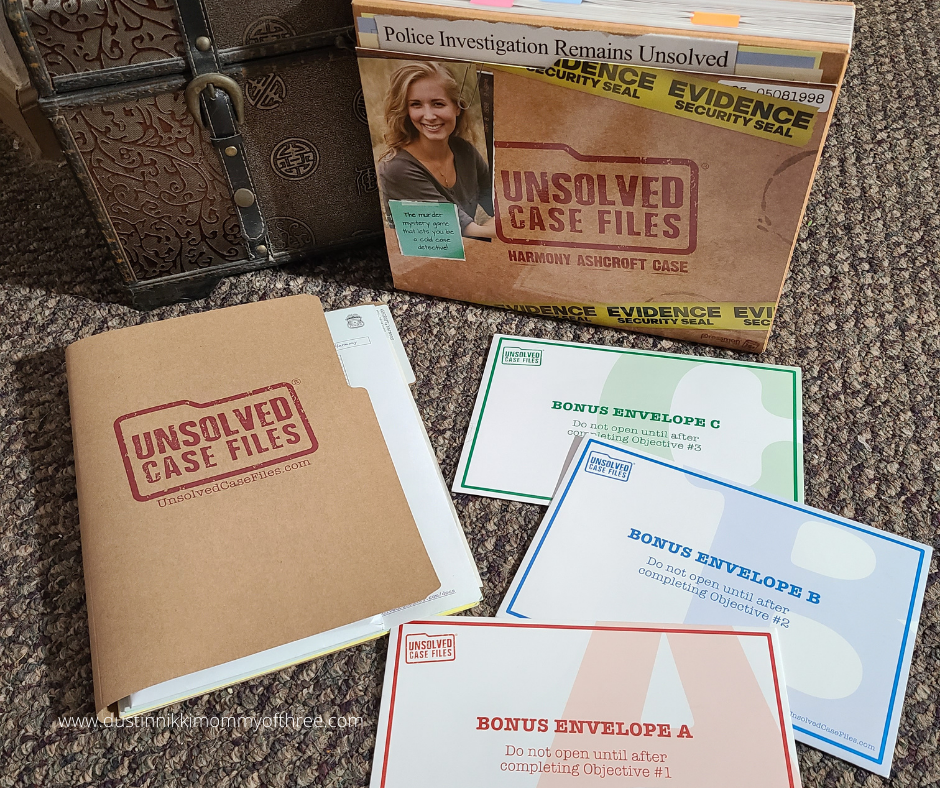 Unsolved Case Files Game